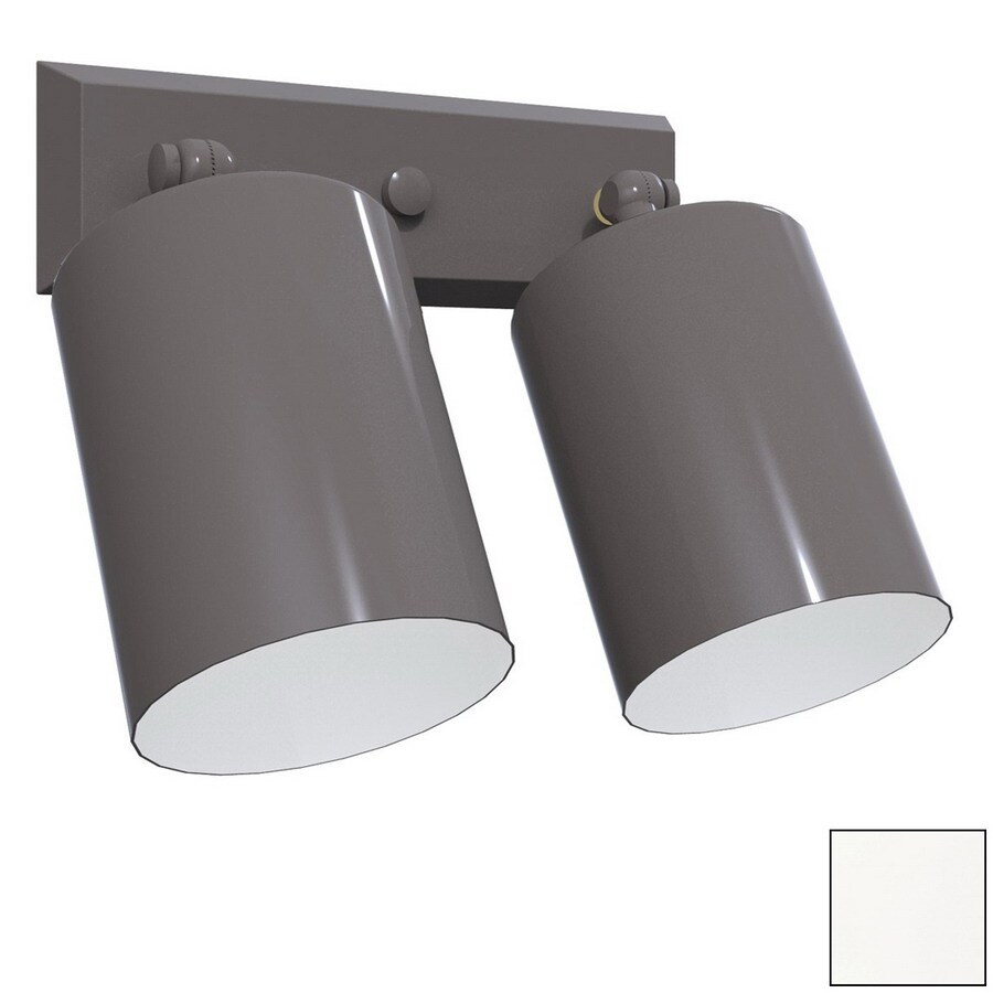Remcraft Lighting Cylinders White Outdoor Flush Mount Light