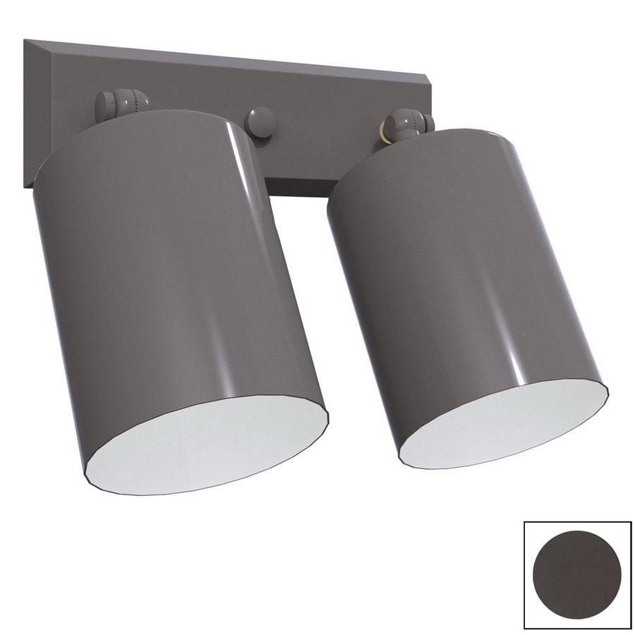 Remcraft Lighting Cylinders Bronze Outdoor Flush Mount Light