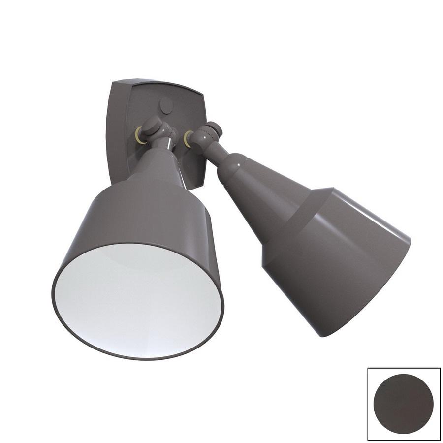 Remcraft Lighting Bronze Outdoor Flush Mount Light