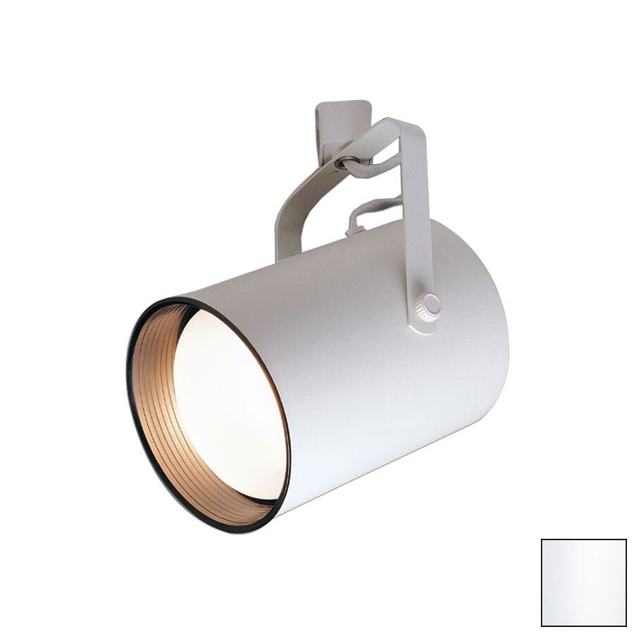 Shop nora lighting white linear track lighting head at lowes nora lighting white linear track lighting head mozeypictures Choice Image