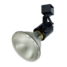 Shop track lighting heads at lowes nora lighting truly universal 1 light dimmable black gimbal linear track lighting head aloadofball Choice Image