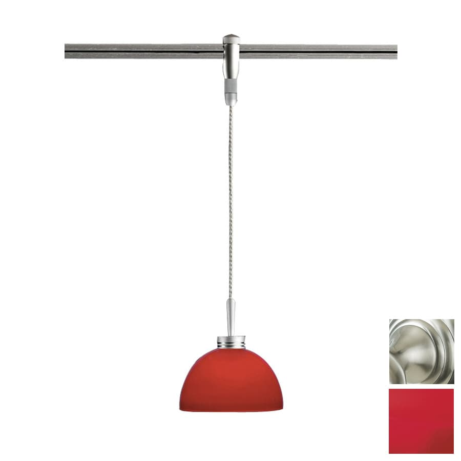 Flexible Track Lighting With Pendants: Shop Focalor Satin Nickel Flexible Track Light Pendant At
