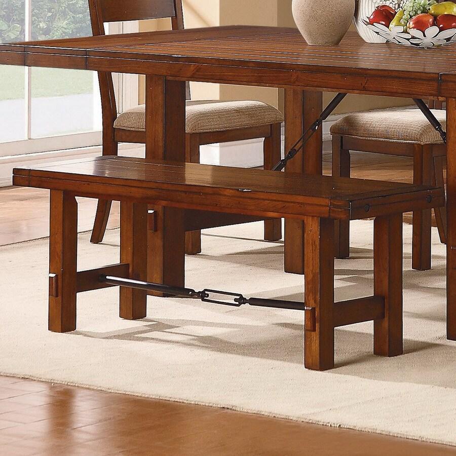 Homelegance Clayton Dark Oak 54-in Dining Bench