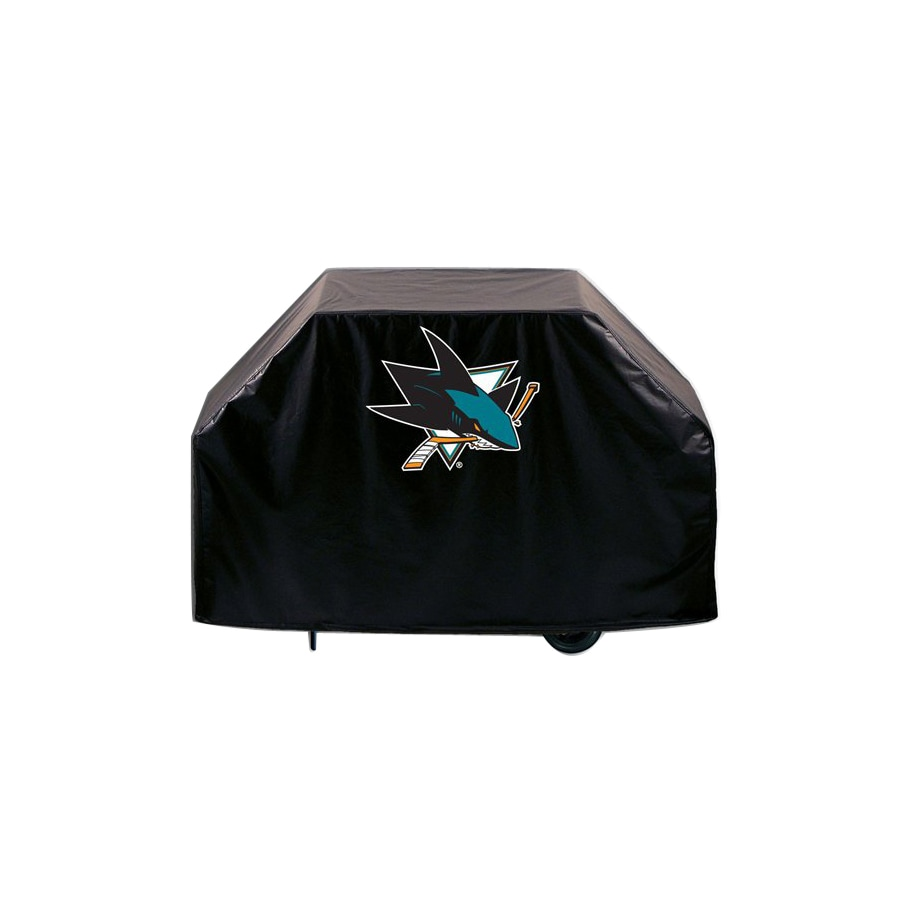 Holland San Jose Sharks Vinyl 60-in Grill Cover
