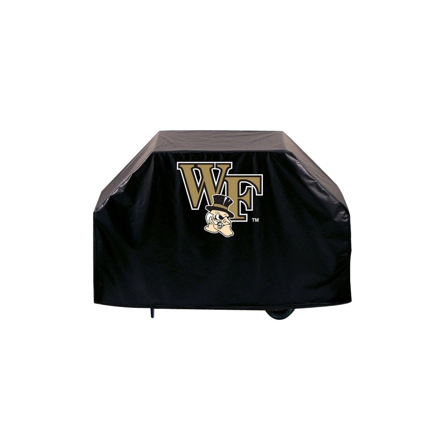 Holland Wake Forest University Vinyl 72 In Grill Cover At Lowes Com