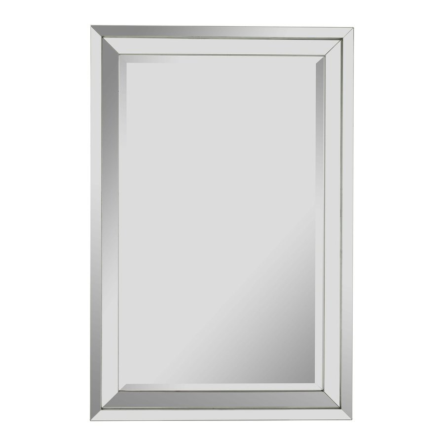 Beveled Frameless Wall Mirror At Lowes