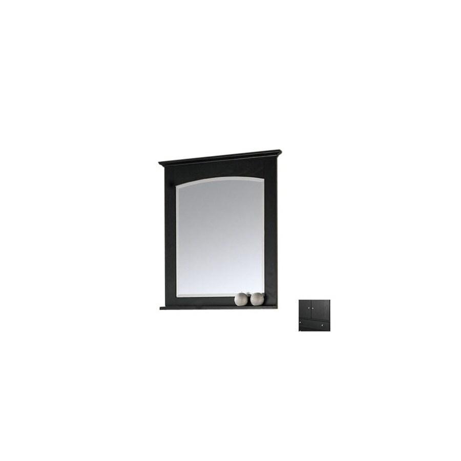 Avanity 33 33-in H x 24 24-in W Westwood Westwood Dark Ebony Dark Ebony Rectangular Rectangular Bathroom Mirror