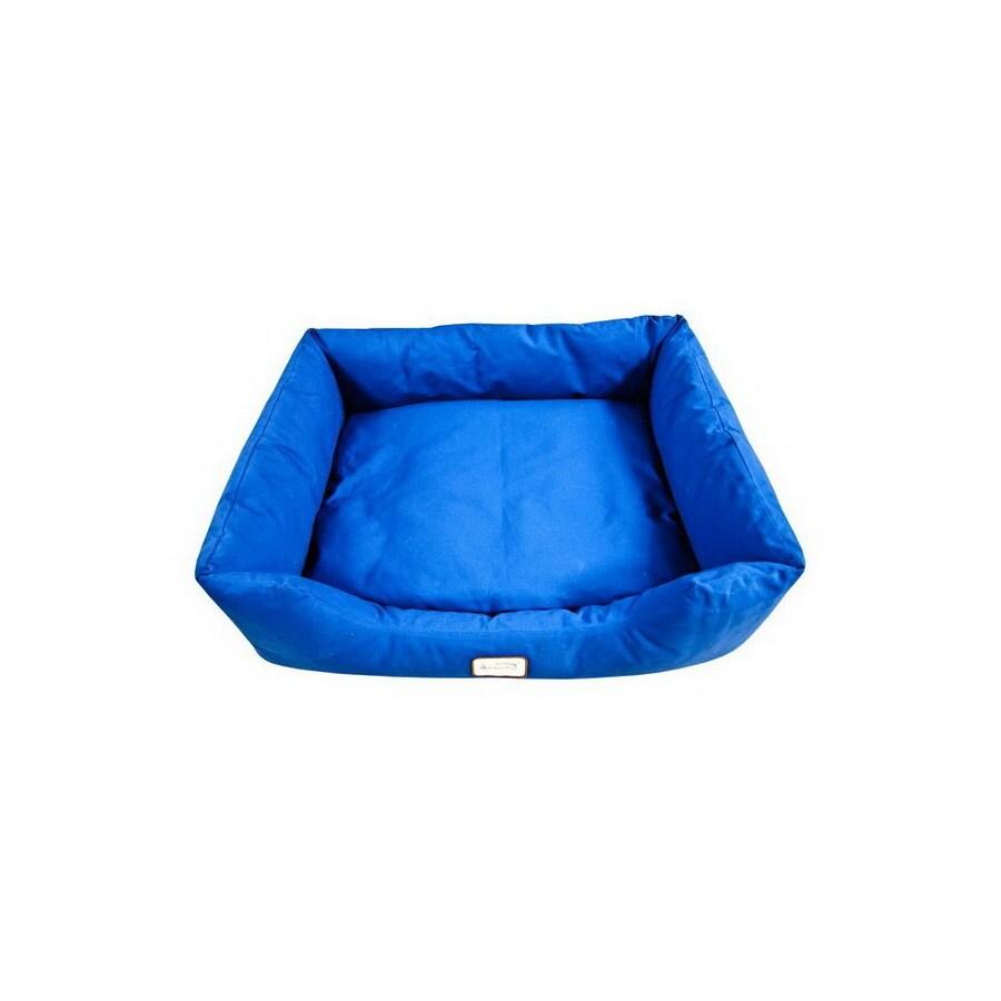 Armarkat Navy Blue Canvas Rectangular Dog Bed