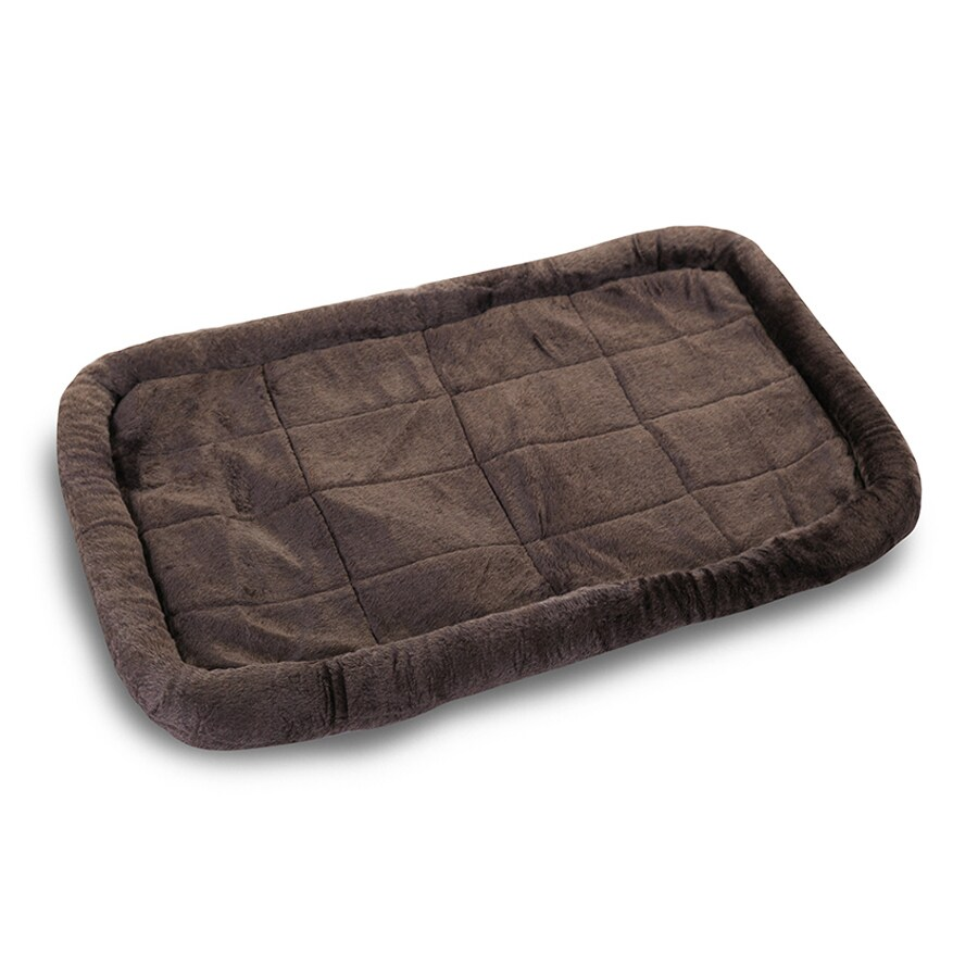 Majestic Pets Charcoal Sherpa Rectangular Dog Bed
