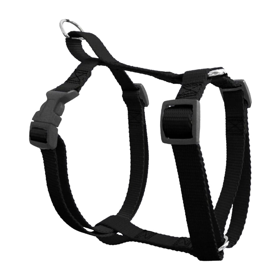 Majestic Pets Black Nylon Dog Harness