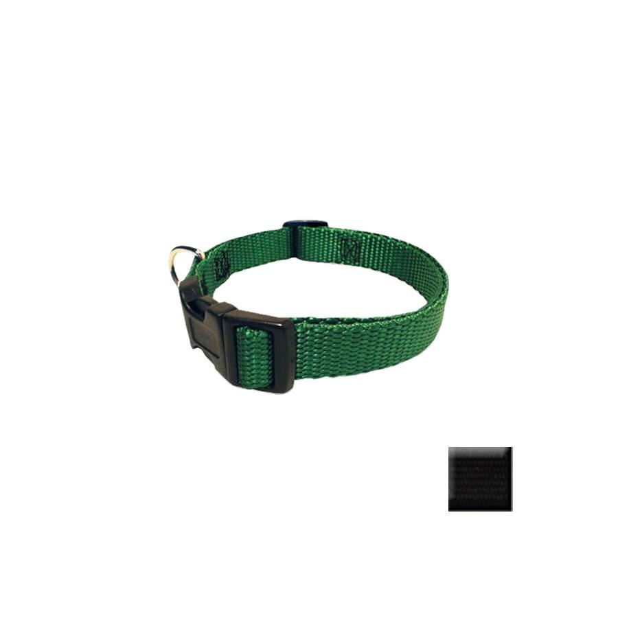 Majestic Pets Black Nylon Dog Collar