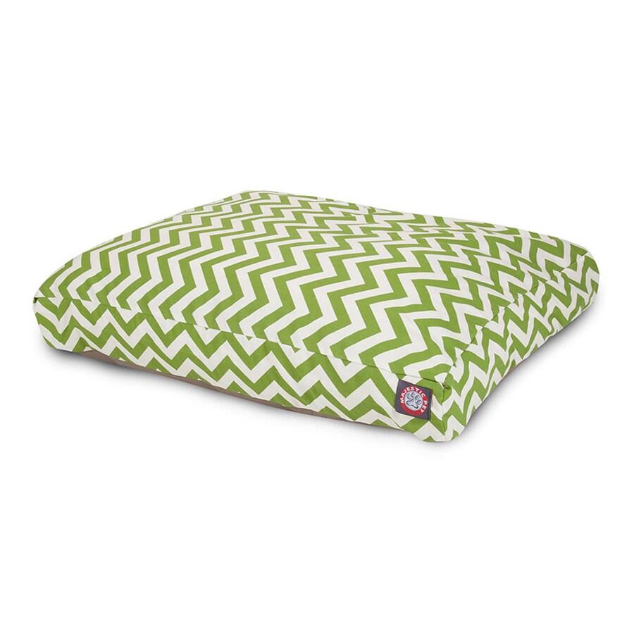 Majestic Pets Sage Polyester Rectangular Dog Bed