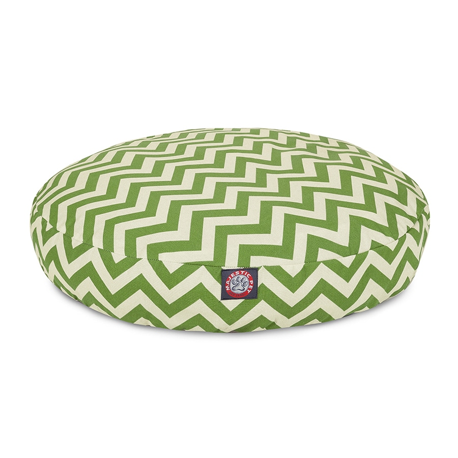 Majestic Pets Sage Polyester Round Dog Bed