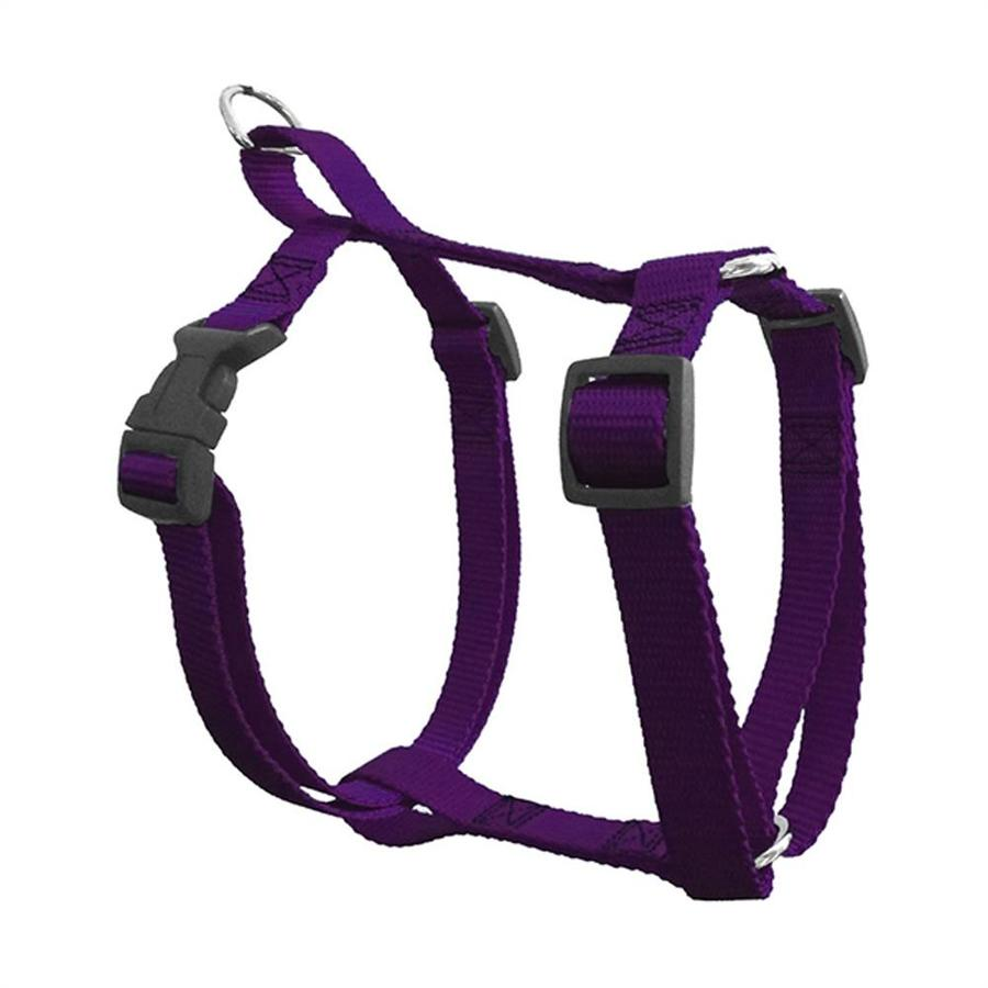 Majestic Pets Purple Nylon Dog Harness