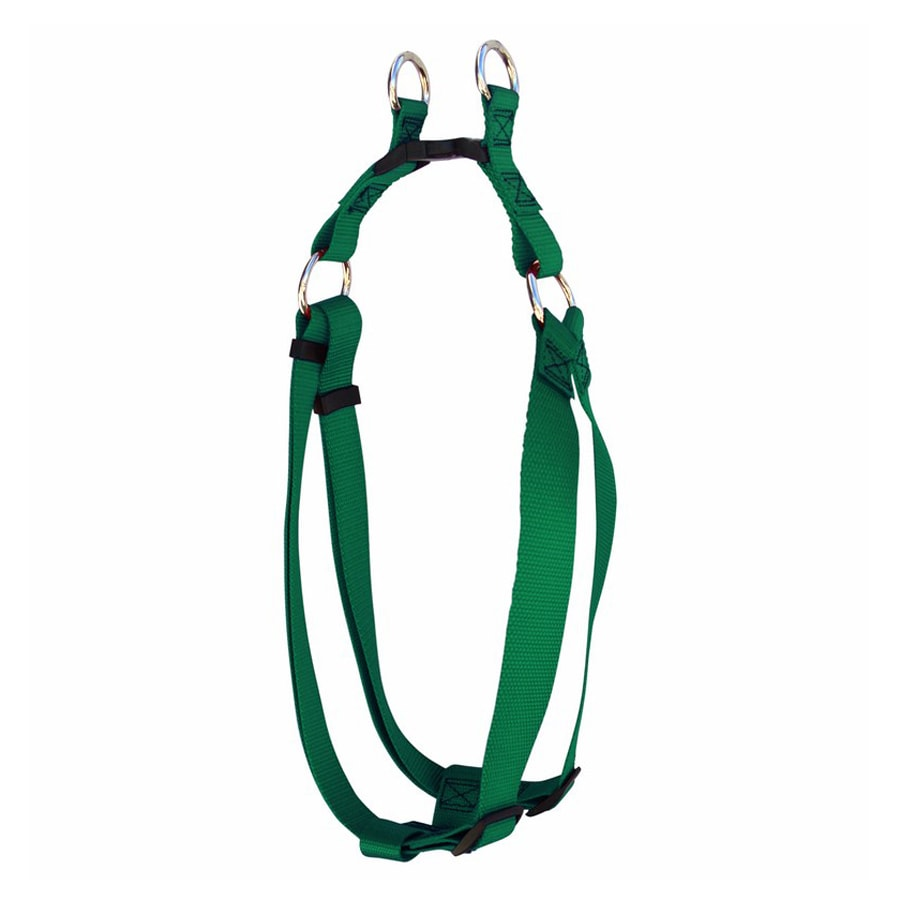 Majestic Pets Green Nylon Dog Harness