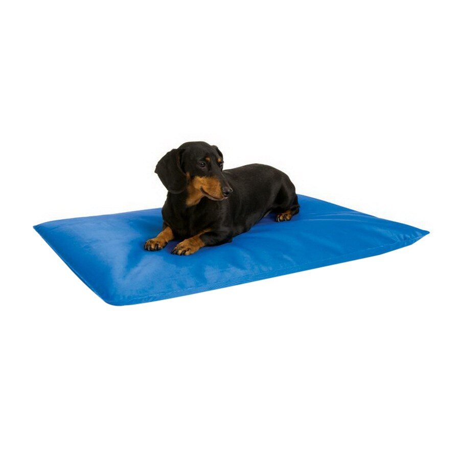K&H Manufacturing Blue Vinyl with Nylon Coating Rectangular Dog Bed
