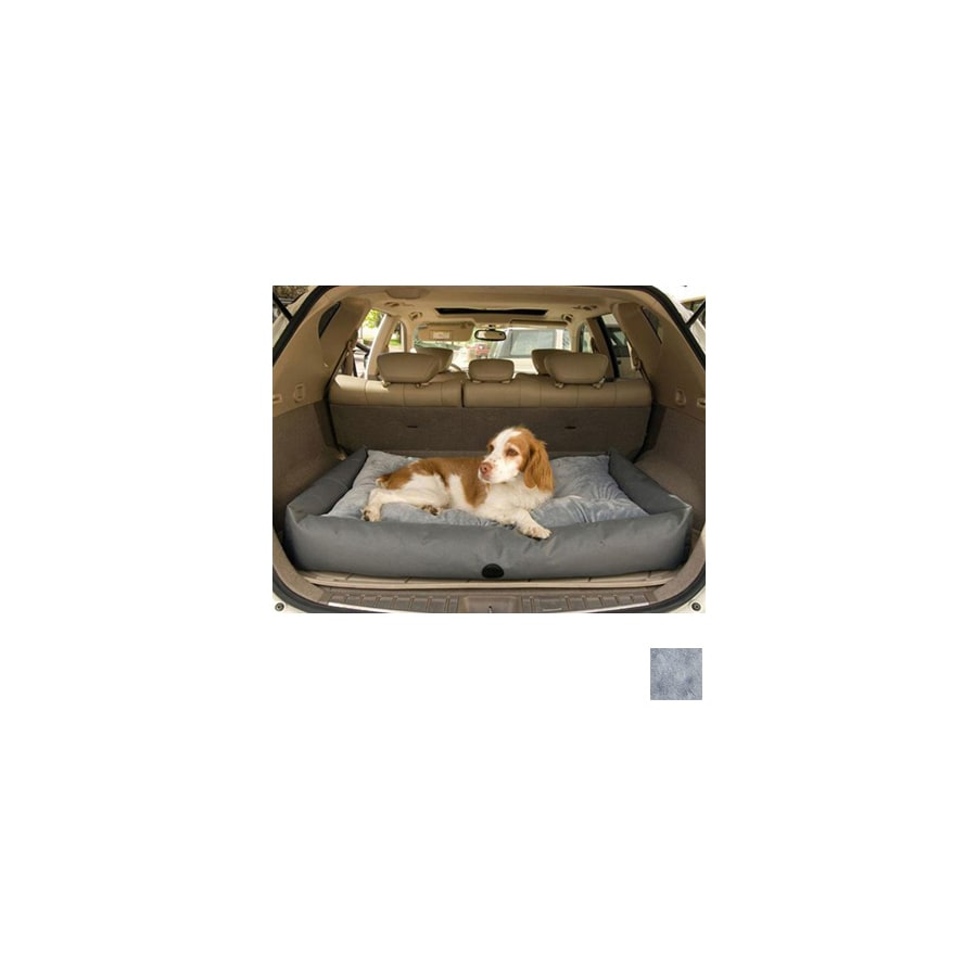 K&H Manufacturing Gray Nylon with Vinyl Coating Rectangular Travel Dog Bed