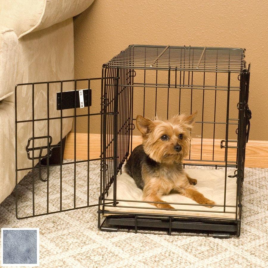 K&H Manufacturing Gray Microfleece Rectangular Dog Bed