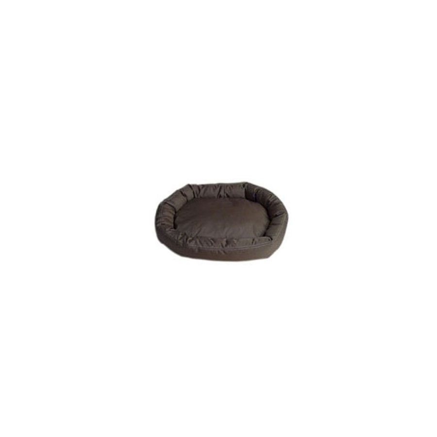 Carolina Pet Company Chocolate Oval Dog Bed