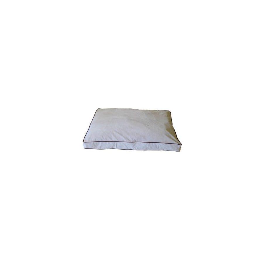 Carolina Pet Company Linen Microfiber Rectangular Dog Bed