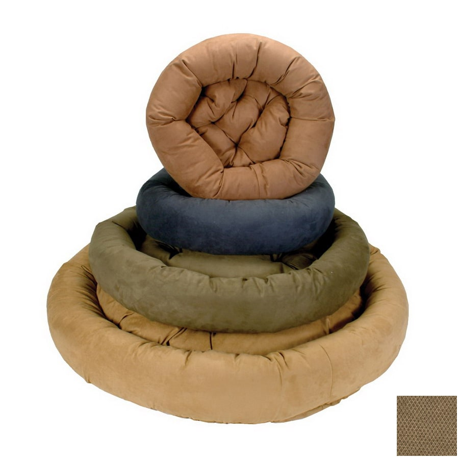 Snoozer Shona Brown Sugar Round Dog Bed