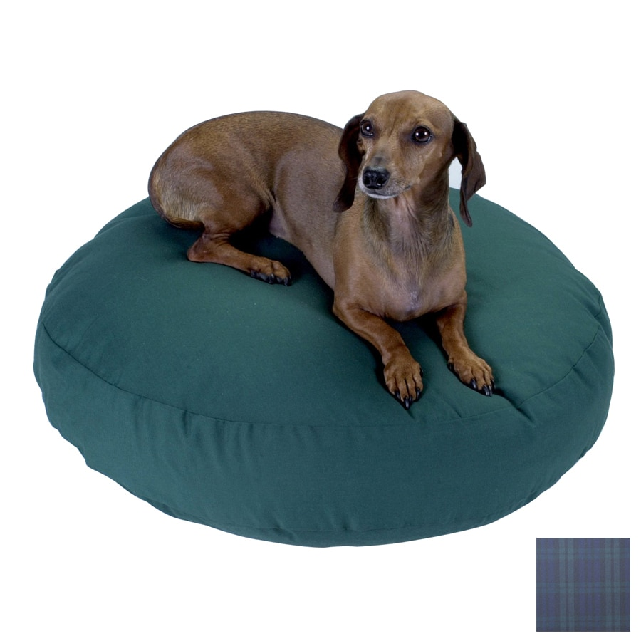 Snoozer Blackwatch Plaid Polyester/Cotton Round Dog Bed