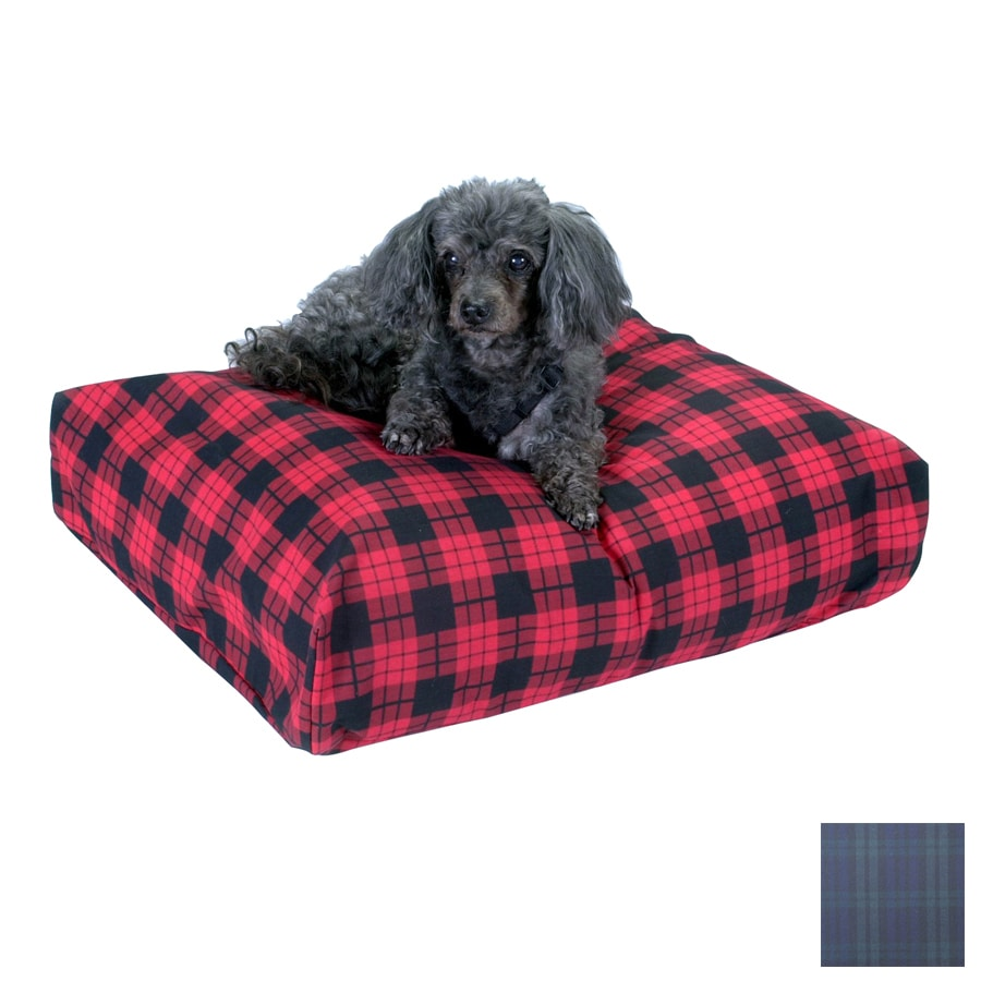 Snoozer Blackwatch Plaid Polyester/Cotton Rectangular Dog Bed