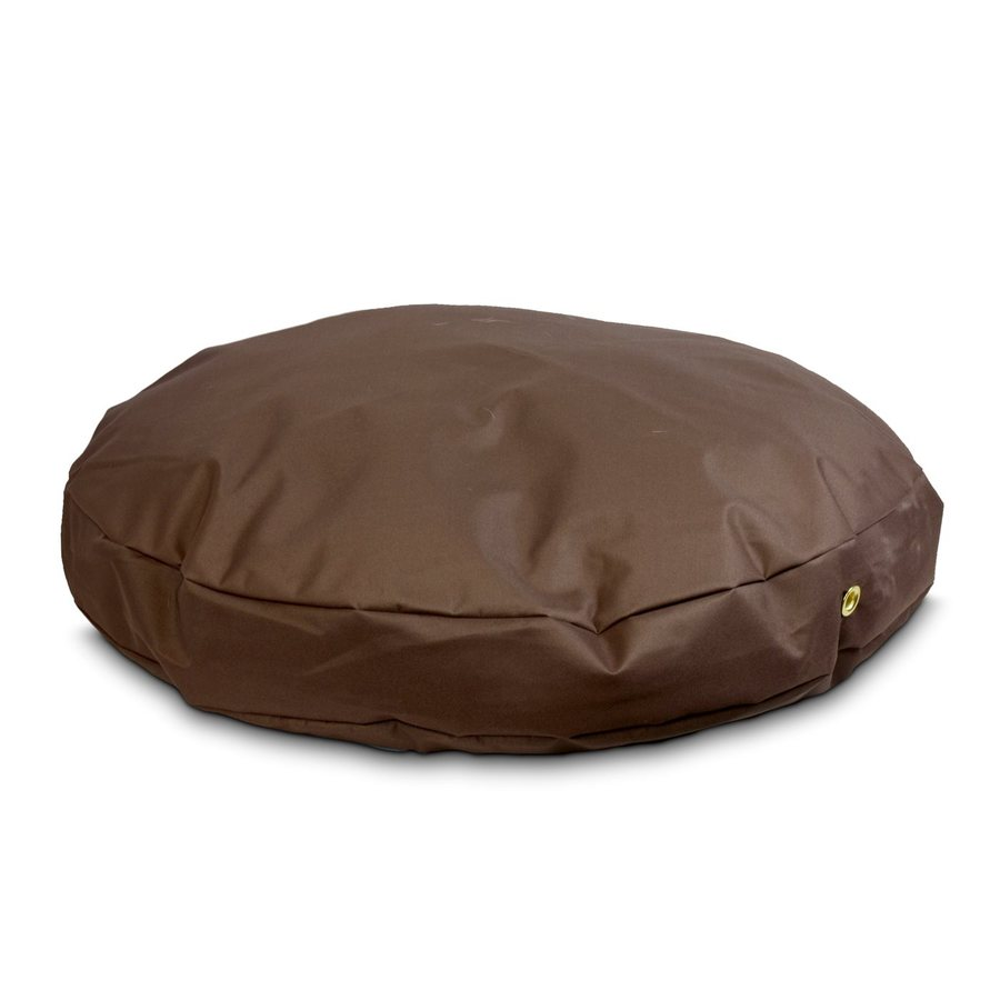 Snoozer Brown Polyester Round Dog Bed