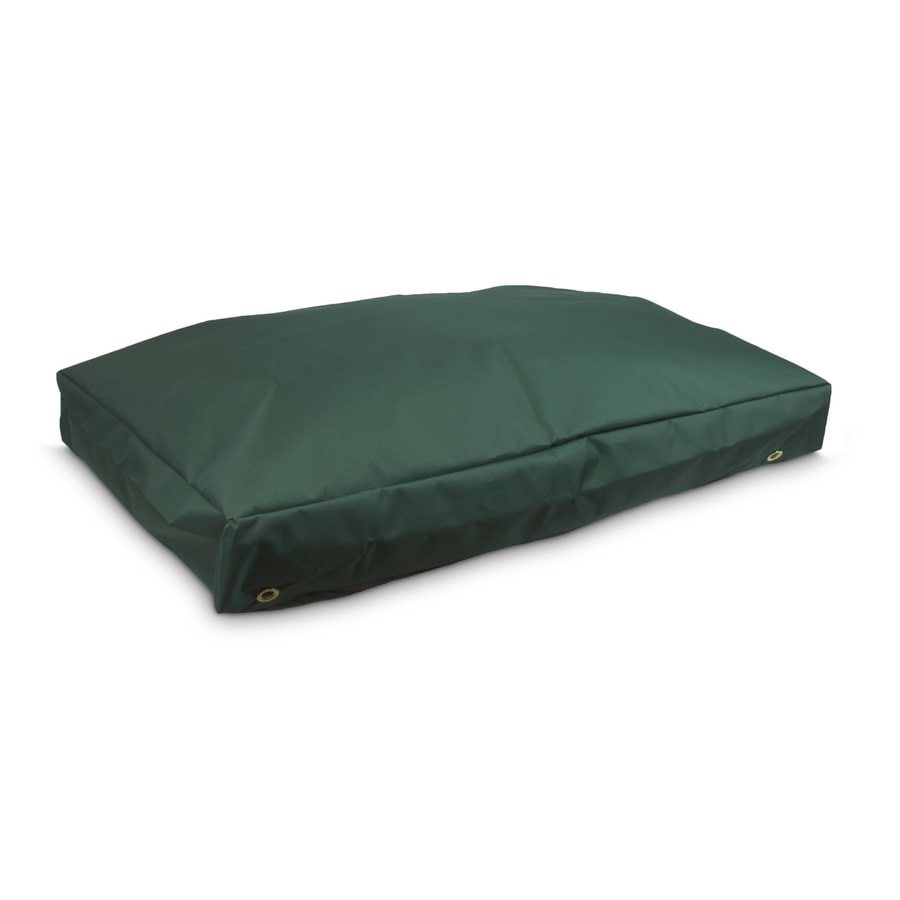 Snoozer Green Polyester Rectangular Dog Bed