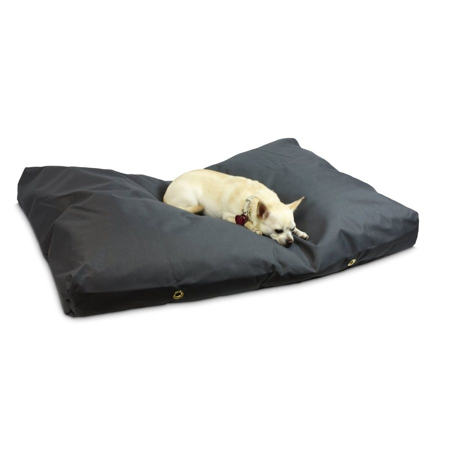 Snoozer Gunmetal Polyester Rectangular Dog Bed