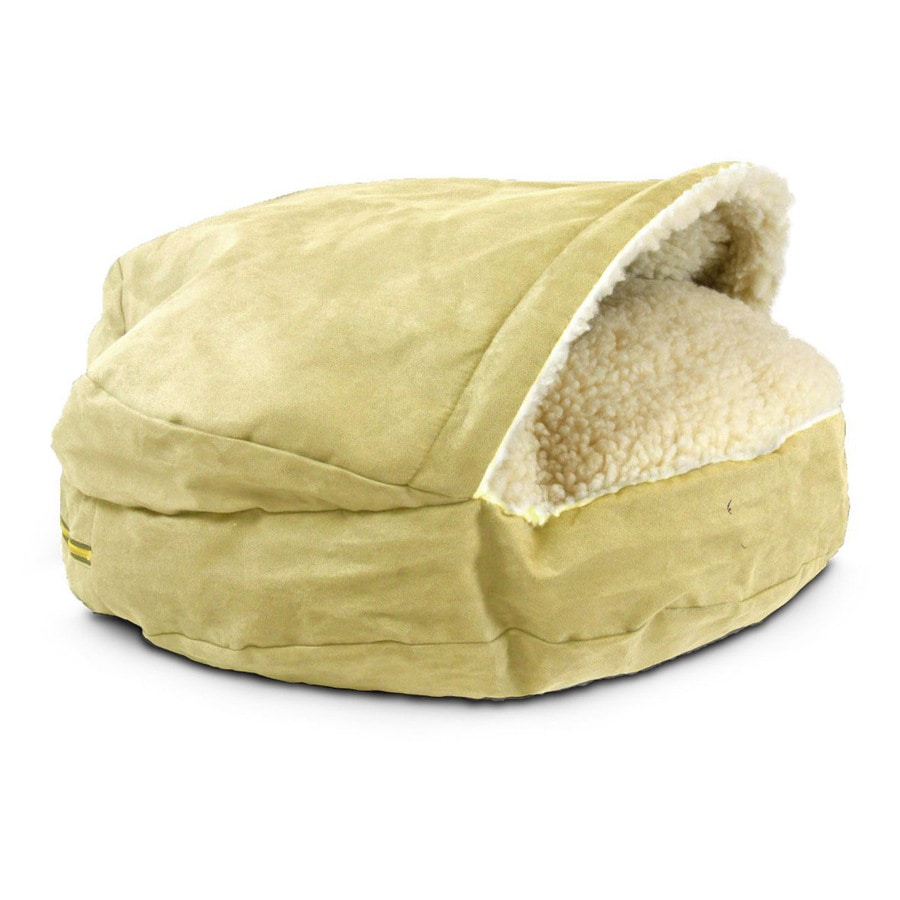 Snoozer Butter Microsuede Round Dog Bed