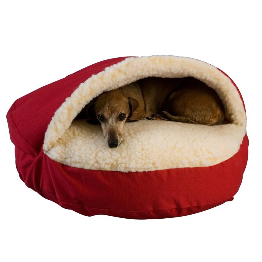 Snoozer Um Blue Poly Cotton Round Dog Bed
