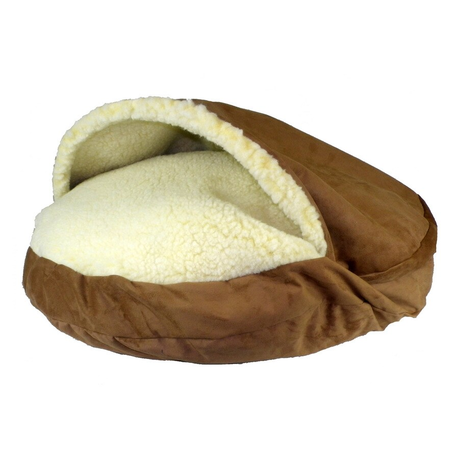 Snoozer Saddle Microsuede Round Dog Bed