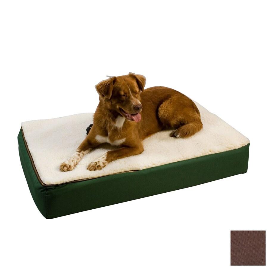Snoozer Brown Rectangular Dog Bed