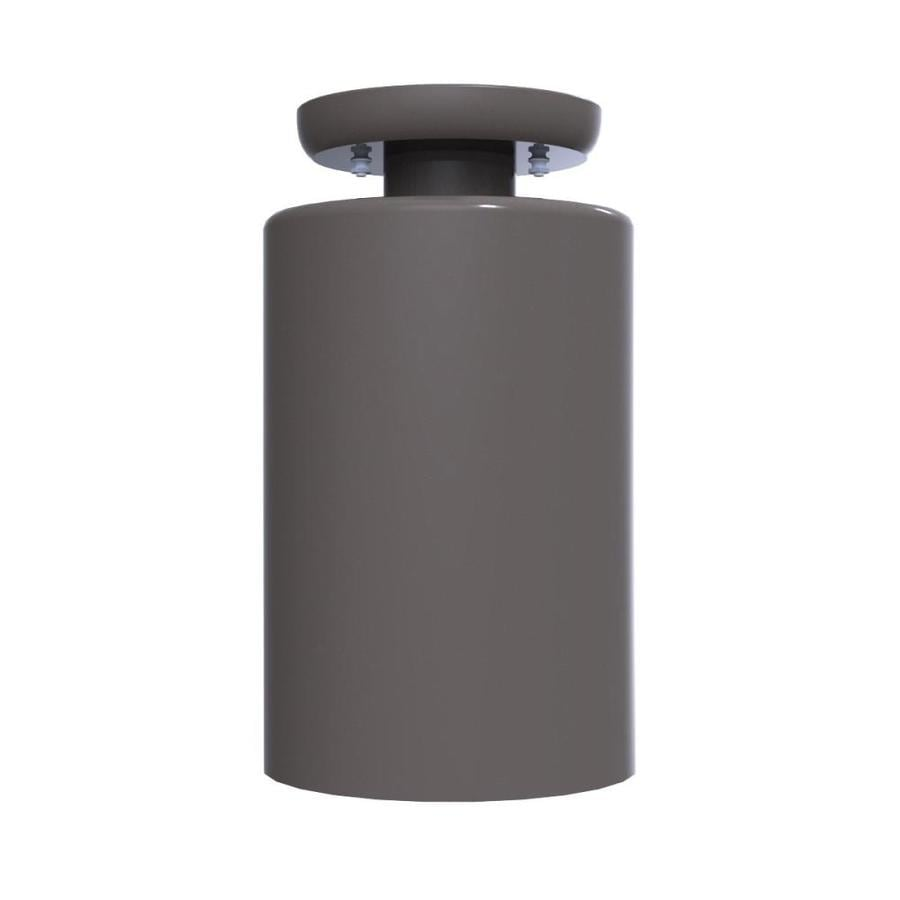 Remcraft Lighting 5.875-in Black Mini Cylinder Pendant