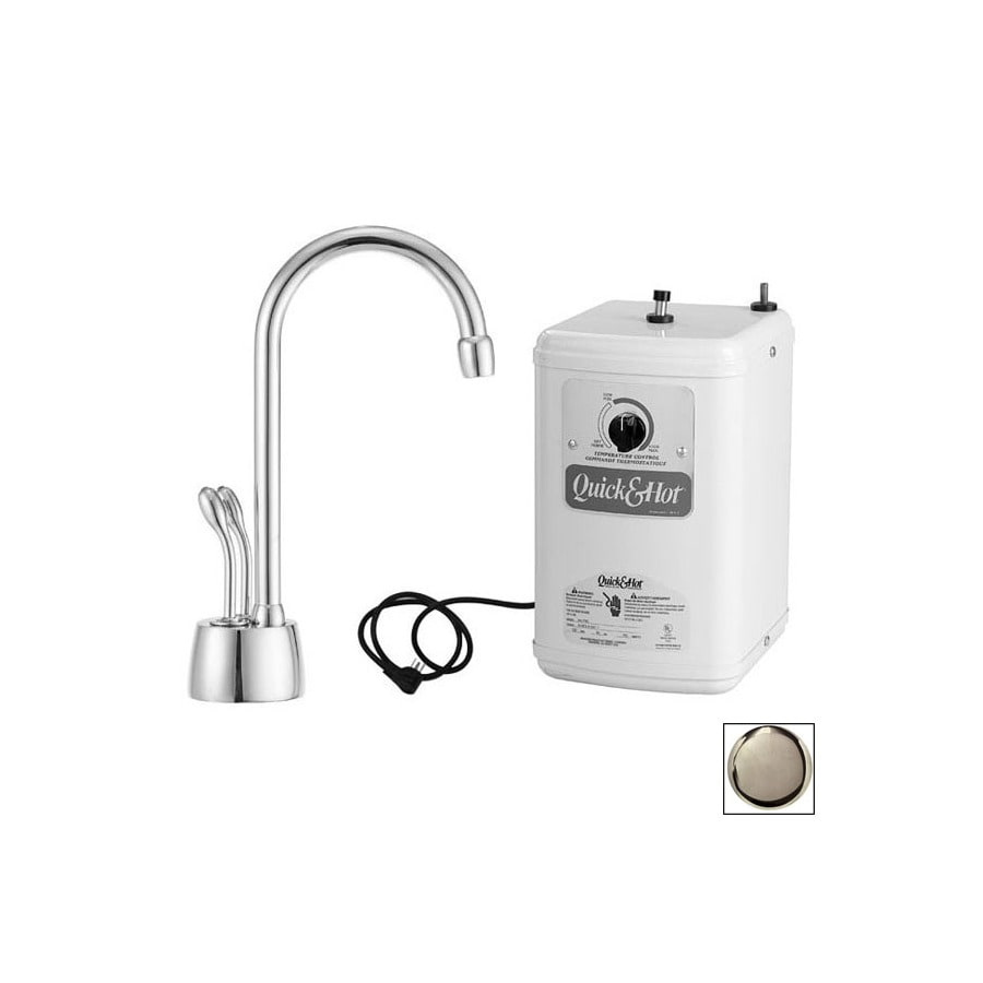 Westbrass Stainless Steel Hot Water Dispenser with High Arc Spout