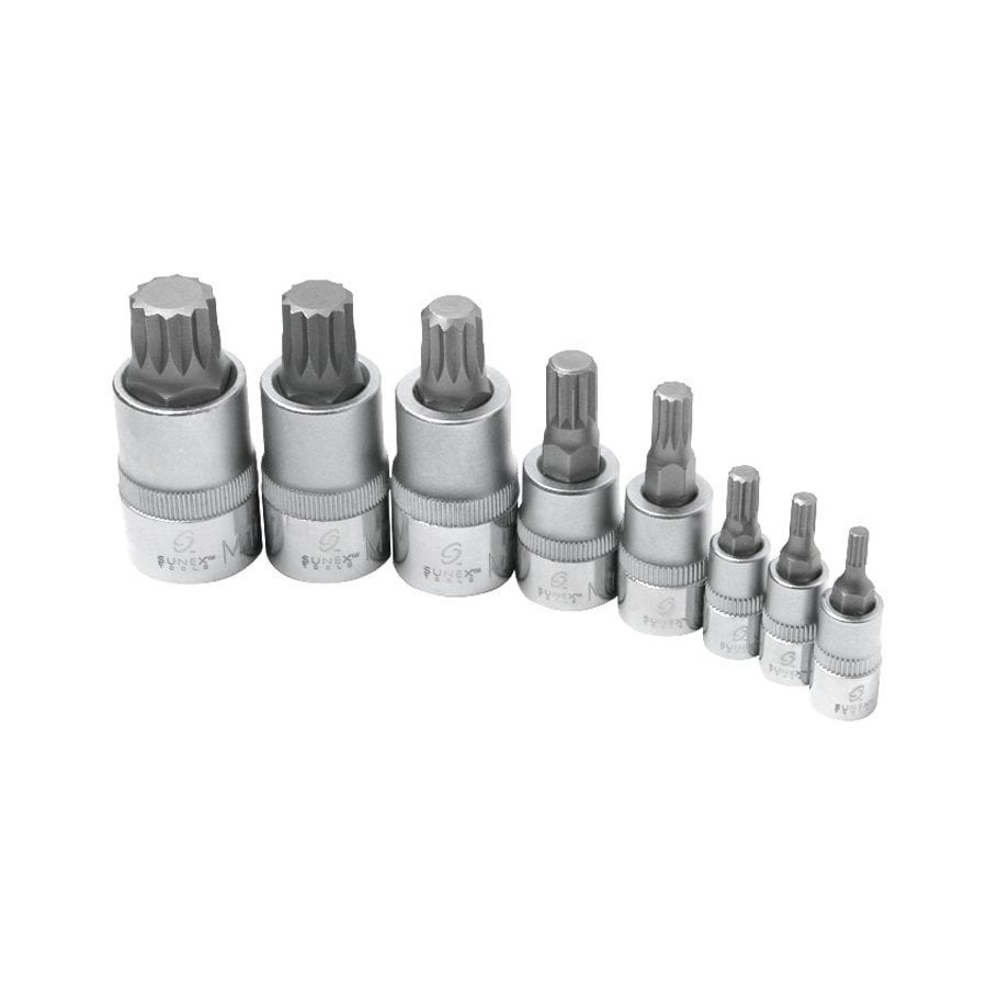 Sunex Tools 8-Piece 3/8-in Drive Driver Socket Set