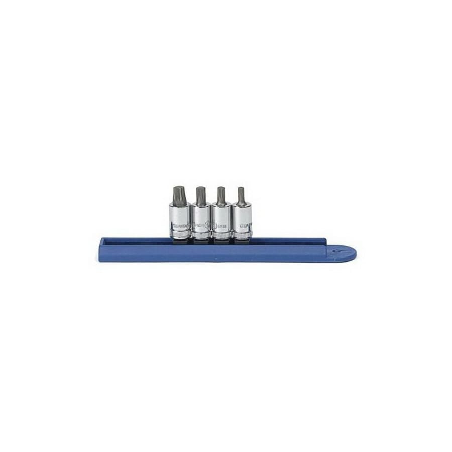 KD Tools 4-Piece 1/4-in Drive Driver Socket Set