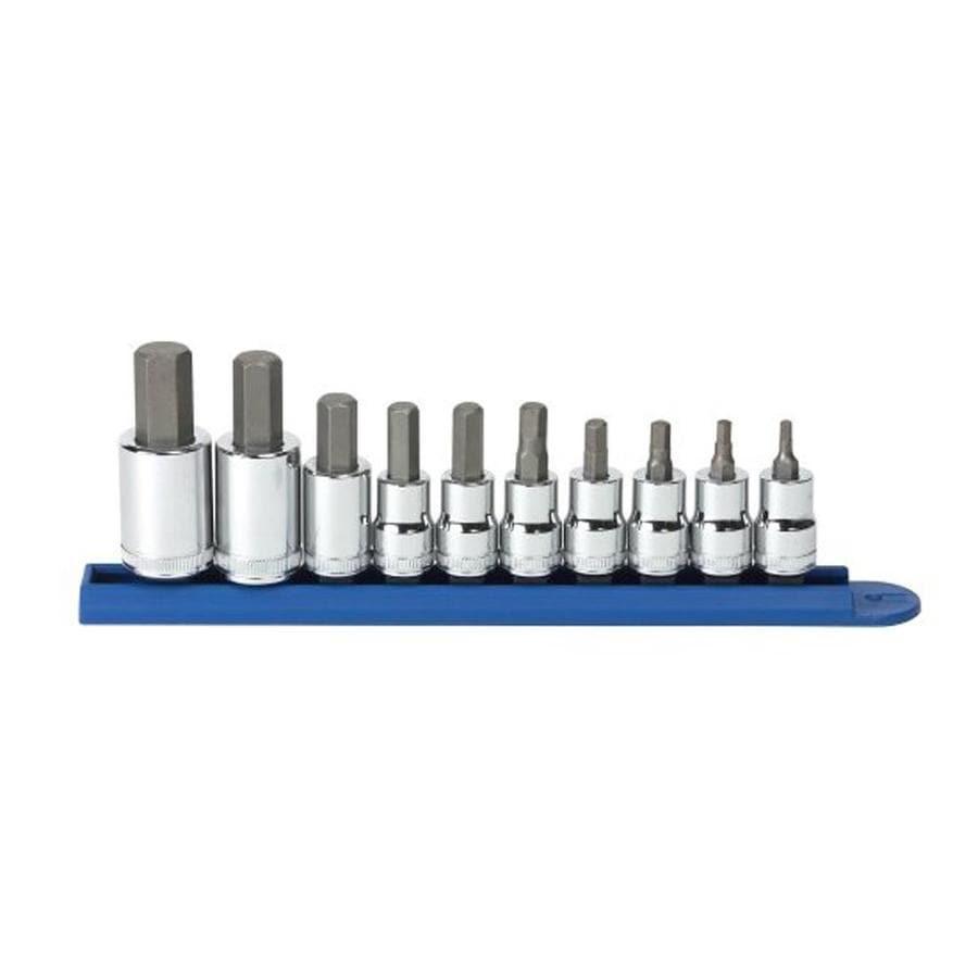 KD Tools 10-Piece Hex Driver Socket Set