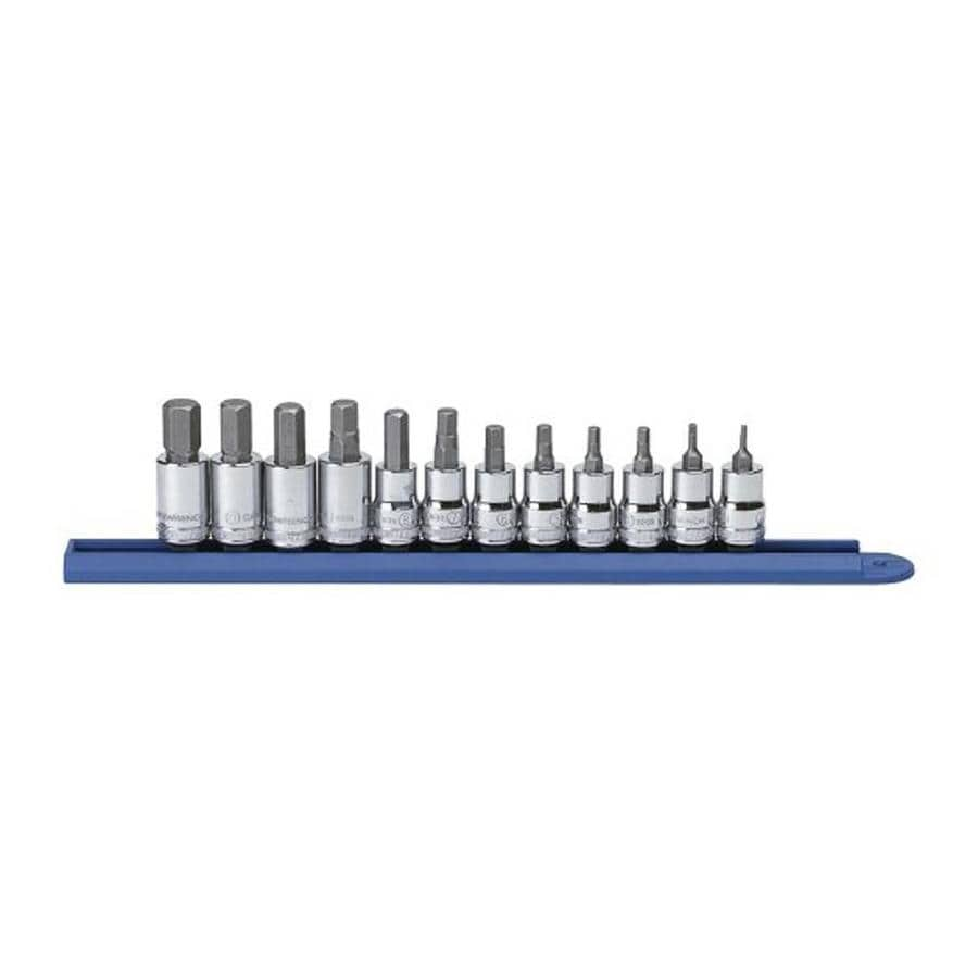KD Tools 12-Piece 3/8-in Drive Hex Driver Socket Set