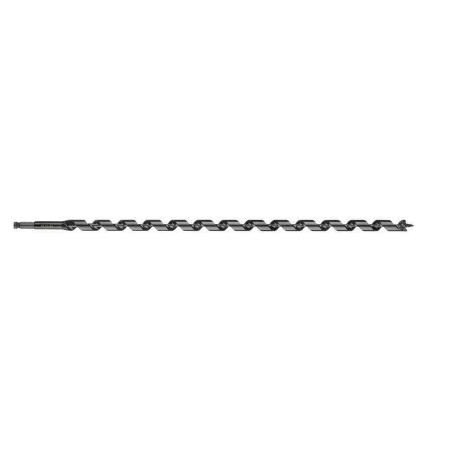 WoodOwl 1-1/8-in Woodboring Auger Drill Bit