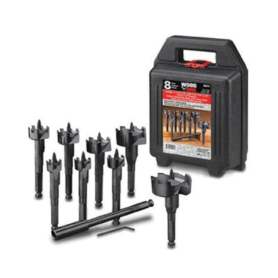 WoodOwl 9-Piece Self-Feed Bit Set