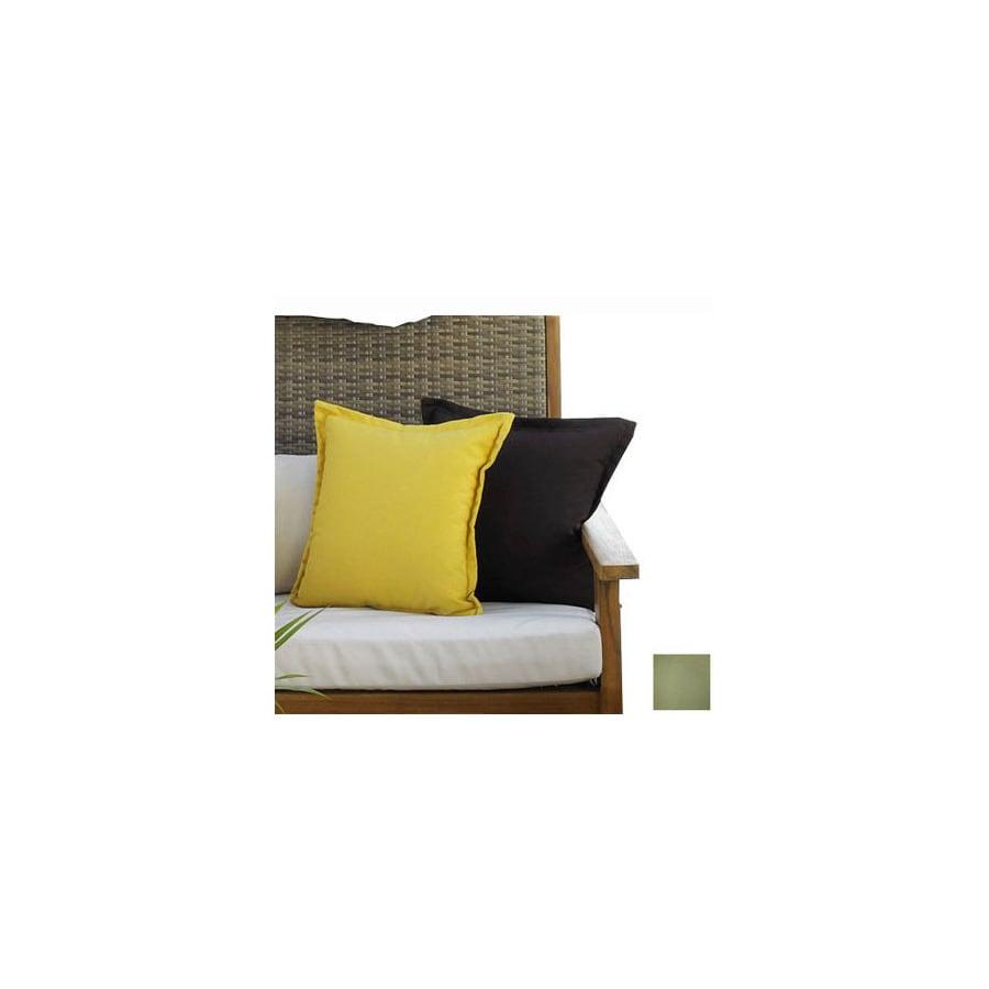 Hospitality Rattan 2-Piece 27-in W x 15-in L Spectrum Cilantro Rectangular Decorative Pillow