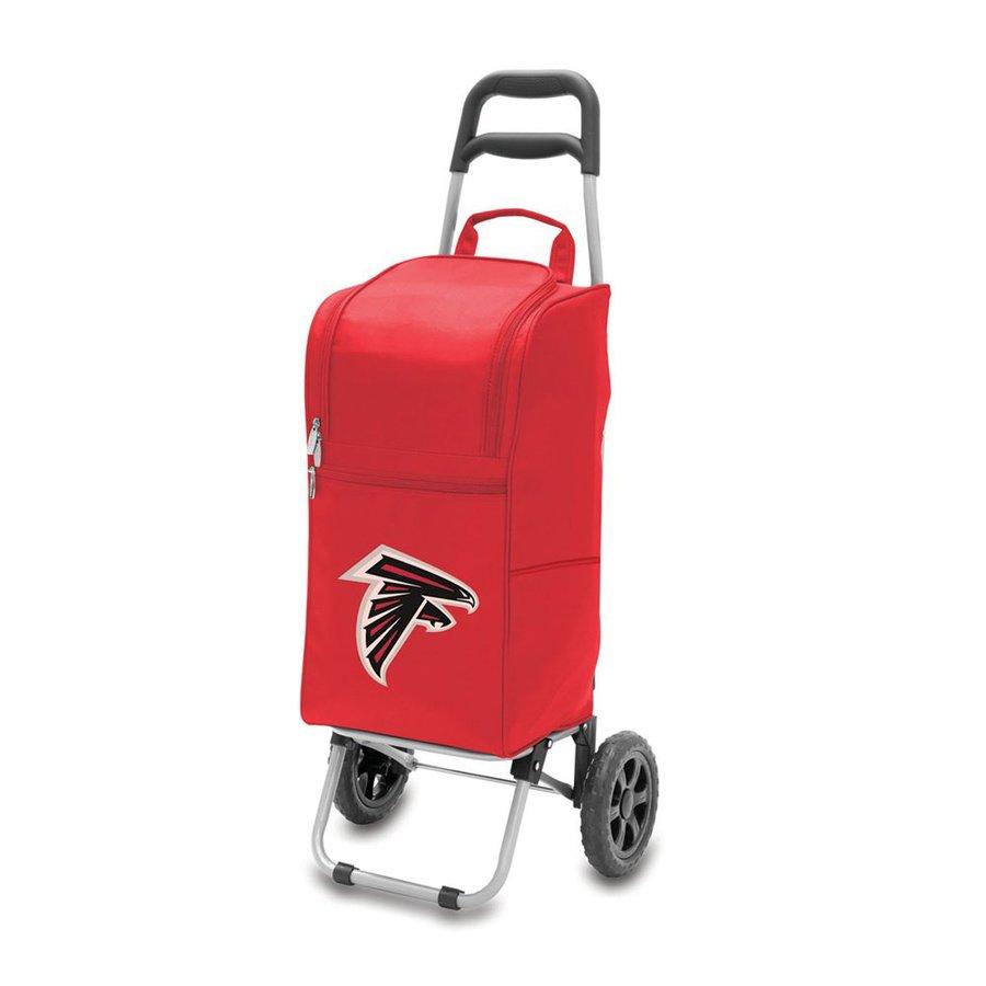 Picnic Time Atlanta Falcons 15-qt Wheeled Plastic Cart Cooler