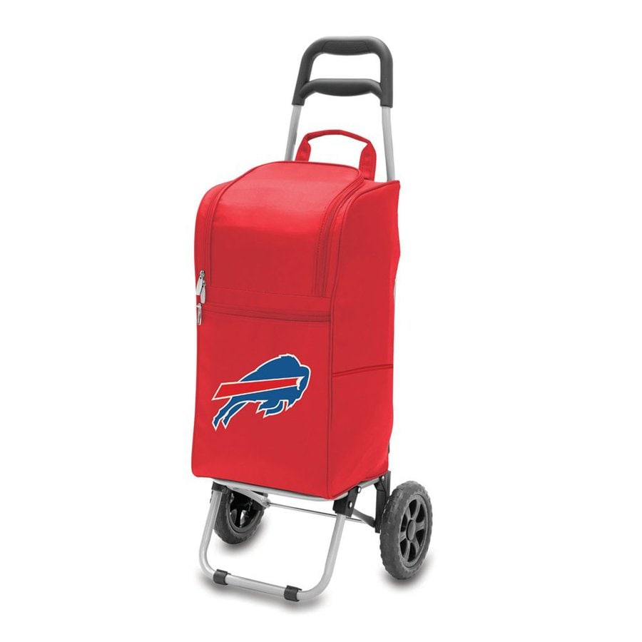 Picnic Time 15-Quart Buffalo Bills Wheeled Polyester Cart Cooler