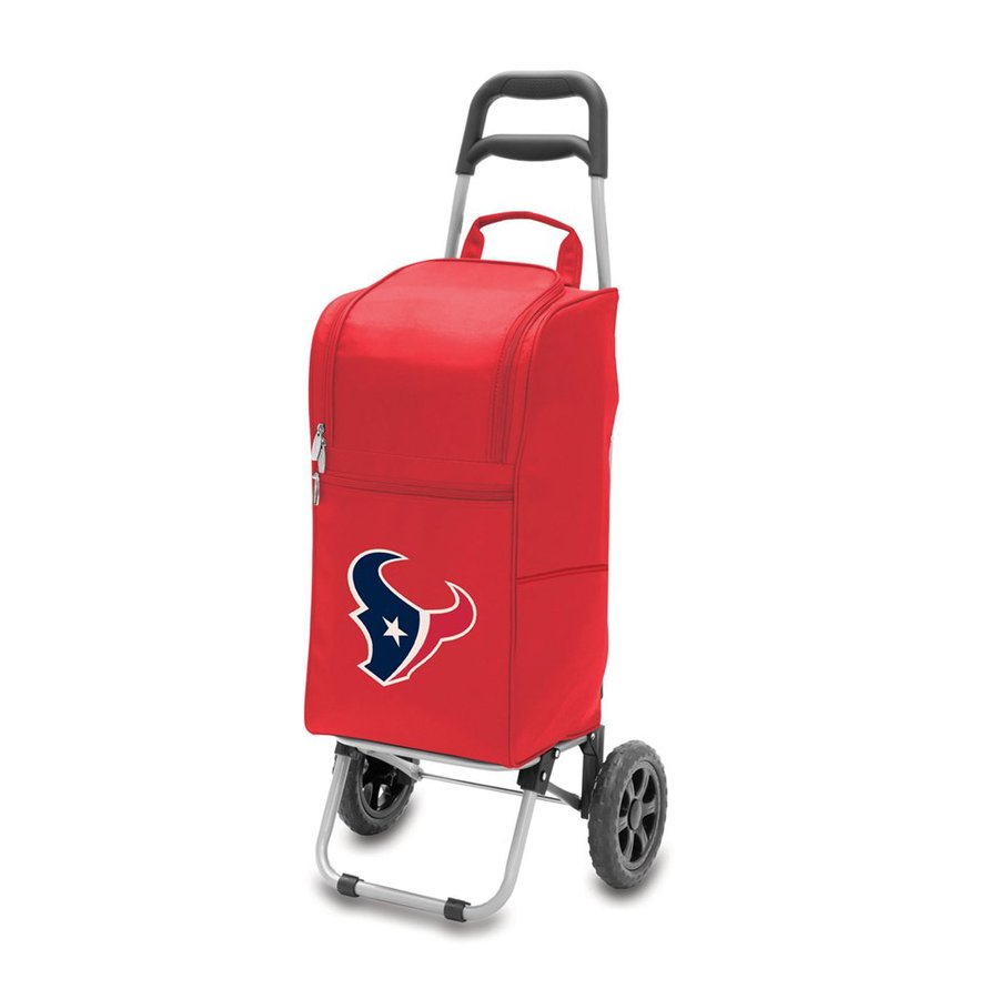 Picnic Time 15-Quart Houston Texans Wheeled Polyester Cart Cooler