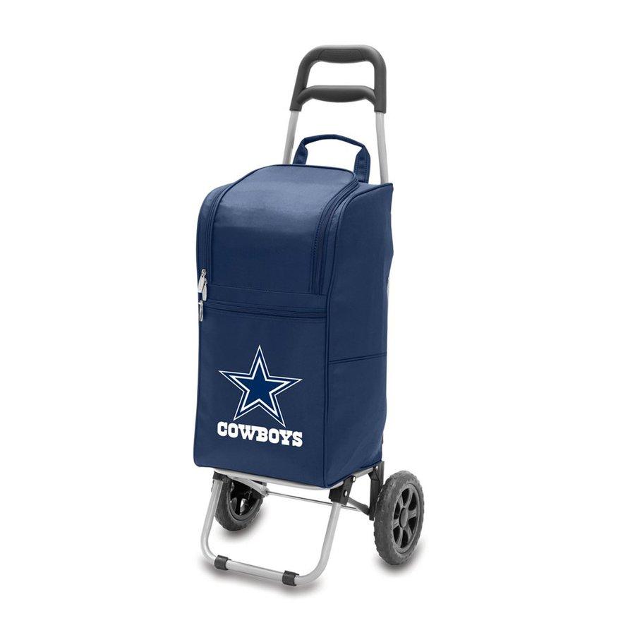 Picnic Time 15-Quart Dallas Cowboys Wheeled Polyester Cart Cooler