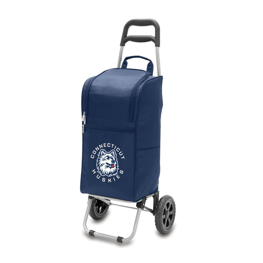 Picnic Time 15-qt Uconn Huskies Wheeled Polyester Cart Cooler