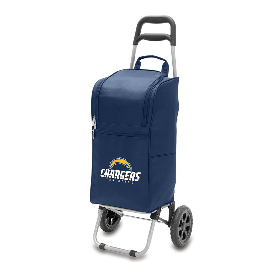 Picnic Time 15-Quart San Diego Chargers Wheeled Polyester Cart Cooler