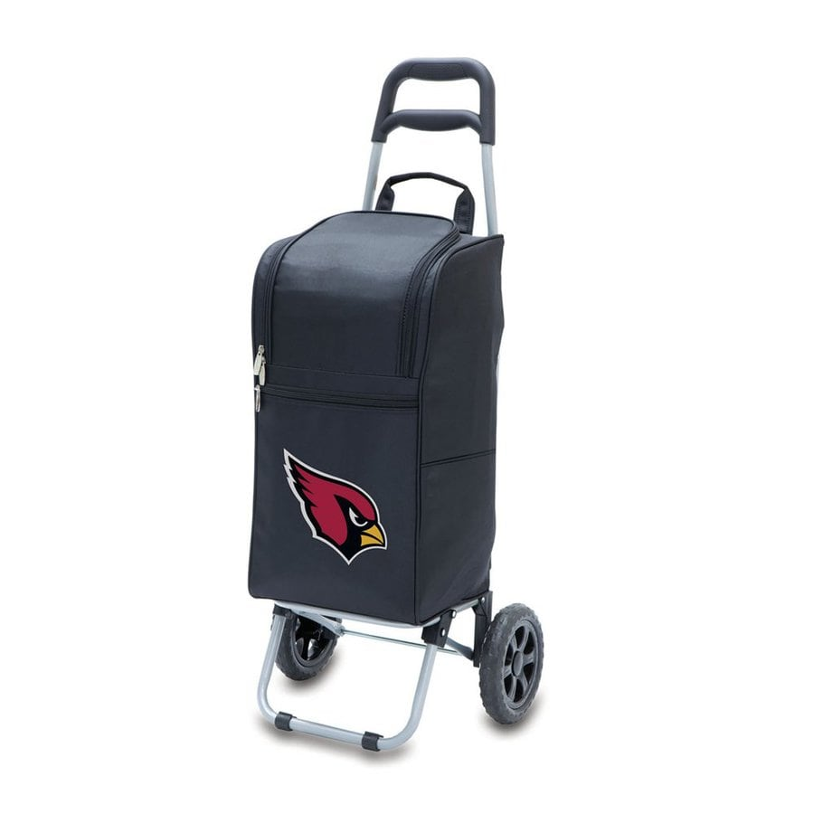 Picnic Time 15-Quart Arizona Cardinals Wheeled Polyester Cart Cooler